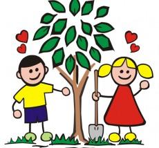 kids-tree-planting